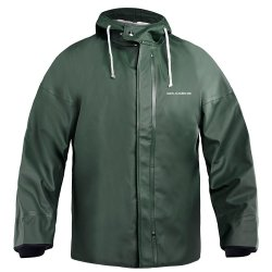 Grundens B44 Brigg 44 Foul Weather Hooded Parka Green