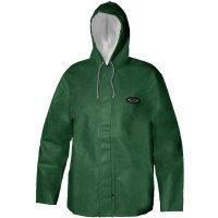 Grundens C82 Clipper 82 Foul Weather Hooded Parka Green
