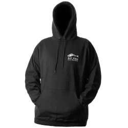 Grundens EFHS Eat Fish Hooded Sweatshirt Black
