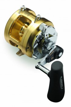 Shimano TI20A Tiagra A Two Speed Lever Drag Reels