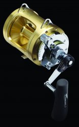 Shimano TI50WA Tiagra A Two Speed Lever Drag Reels
