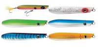 Tsunami Timber Lure Pencil Popper Plugs