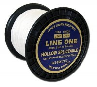 Jerry Brown 130 lb - 600 yds Spliceable Hollow Braided Spectra