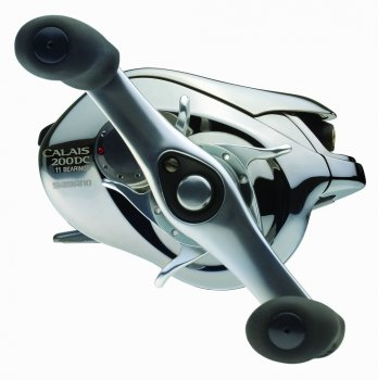 Shimano CL200DC Calais DC Low Profile Baitcasting Reels Handle