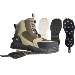 Korkers Redside Wading Boots With Studded Rubber Soles