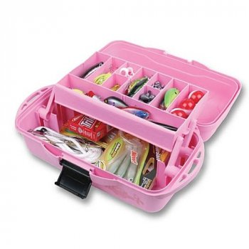 Flambeau Outdoors Pink Ribbon Tray Tackle Box 1515