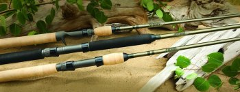 St Croix Wild River Spinning Rods