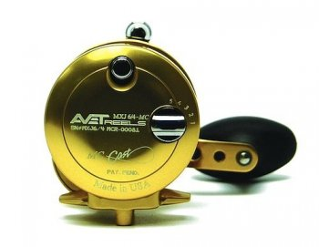 Avet MXJ 6/4 MC 2-Speed Lever Drag Casting Reels Gold