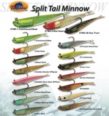 Tsunami Split Tail Minnow
