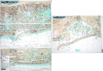 Captain Seagull's Jamaica and Hempstead Bays NY Inshore Nautical Chart JH113