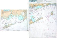 Captain Seagull's Block Island Sound/Fisher's Island NY Nearshore and Inshore Nautical Chart FIO10