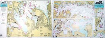 Captain Seagull's Western Long Island Sound NY Inshore Nautical Chart WLI115