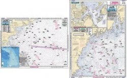 Captain Seagull's Gulf of Maine, Massachusetts Bay Nautical Chart GMM17