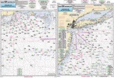 Captain Seagull's Canyon Chart OFGPS18 MA, RI, CT, NY, NJ Offshore Nautical Chart