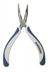 "Shimano ATBP0045 Brutas 4.5"" Bent Nose Split Ring Pliers"