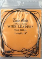 "Tide WL3018 - 30 lb - 18"" Rite Nylon Coated Wire Leaders"