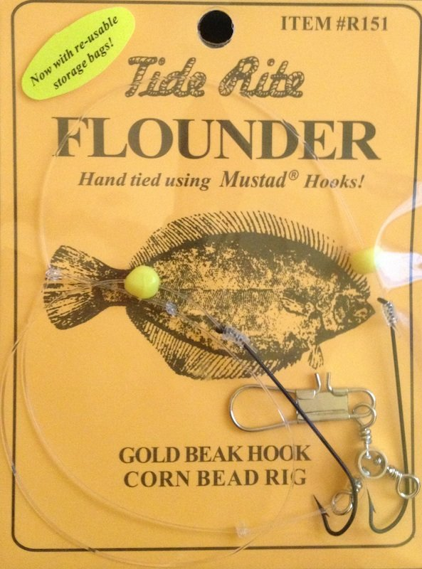 Tide Rite Flounder R151 Corn Bead Rigs buy online, $1 89 - J&H Tackle
