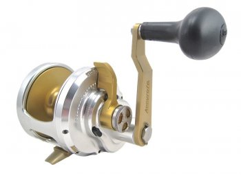 Accurate Fury Single-Speed Reels in Silver and Gold