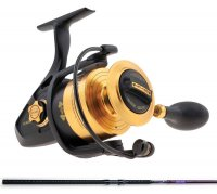 Penn Spinfisher V SSV6500 Reel / St Croix Mojo Surf MSS106MM2 Spinning Surf Rod Combo