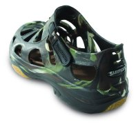 Shimano Evair Fishing Shoes Camo Backside View