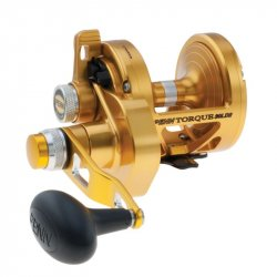 Penn Torque 2-Speed Lever Drag Reel TRQ30LD2 Gold