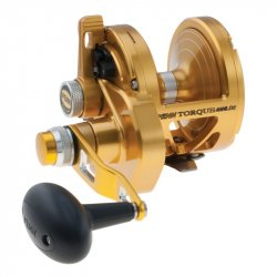 Penn Torque 2-Speed Lever Drag Reel TRQ40NLD2 Gold