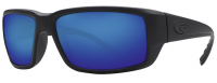 Costa Del Mar Fantail 580G Polarized Sunglasses Blackout Frame and Blue Mirror Lens