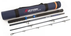 Fox Sport Fishing Kayak KRD026 Trek Montauk Travel Spinning Rods BTY