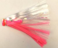 Joe-Shute-The-Deep-Six-Bluefin-5-3-4-oz-Lure-Pink-White-Head-w-Pink-Crystal-Hair