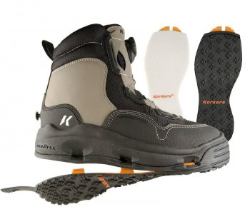 Korkers White Horse Wading Boots