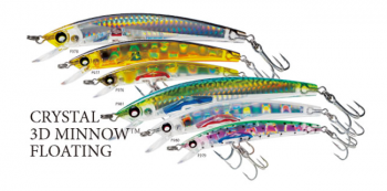 Yo-Zuri Crystal 3D Minnow Lures F978 - 3/4 oz Floating