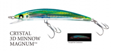 Yo-Zuri Crystal 3D Minnow Lures F986 - 1 1/2 oz Magnum Floating