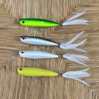 Stillwater Lures Smack-It Jr Popper Plugs