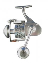 Accurate TwinSpin Spinning Reels Silver