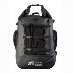 Grundens GAGE 30 Liter Rum Runner Waterproof Backpack Black Front