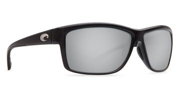 Costa Del Mar Mag Bay 580G Polarized Sunglasses Shiny Black Frame Angle