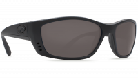 Costa Del Mar Fisch 580P Polarized Sunglasses Blackout Frame Angle