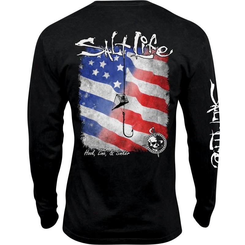 f3fe0a2407fe Hook Line and Sinker Long Sleeve Pocket T-Shirt buy online, $32.00 ...