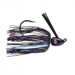 Strike King HAHCSJ12-2 Hack Attack Heavy Cover Swim Jig Black Blue