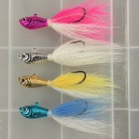 Spro Chrome Bucktails