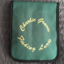 Charlie Graves Tins and Bucktail Pouch Front