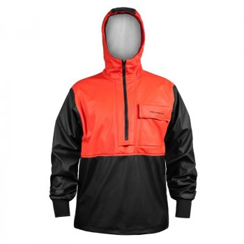 Grundens Neptune 103 Anorak Jacket Orange Front