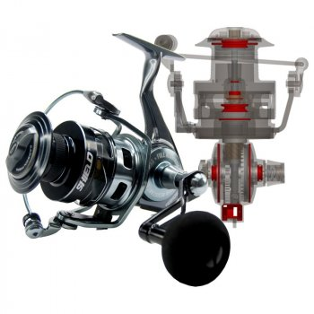 Tsunami Shield Spinning Reel TSSHD5000