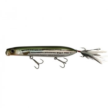 Evergreen SB-150 Custom Topwater Plug Baby Striper