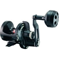 Accurate BV-400 Boss Valiant Single-Speed Lever Drag Reel Black