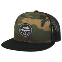 Pelagic Circle Trucker Caps Camo