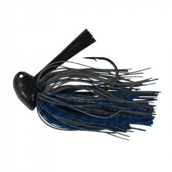 Andys Custom Bass Lures Crawzilla Flipn Jig Black Blue