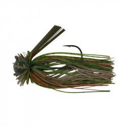 Andys Custom Bass Lures E Series Finesse Jig Green Craw