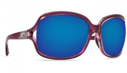 Costa Del Mar Boga 580P Polarized Sunglasses Orchid Frame Angle