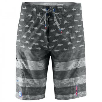 Pelagic Patriot Boardshorts Front